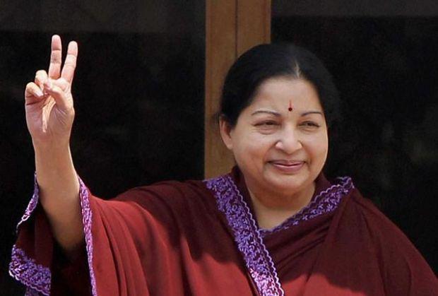 File picture of Tamil Nadu CM J Jayalalithaa. Credit: PTI