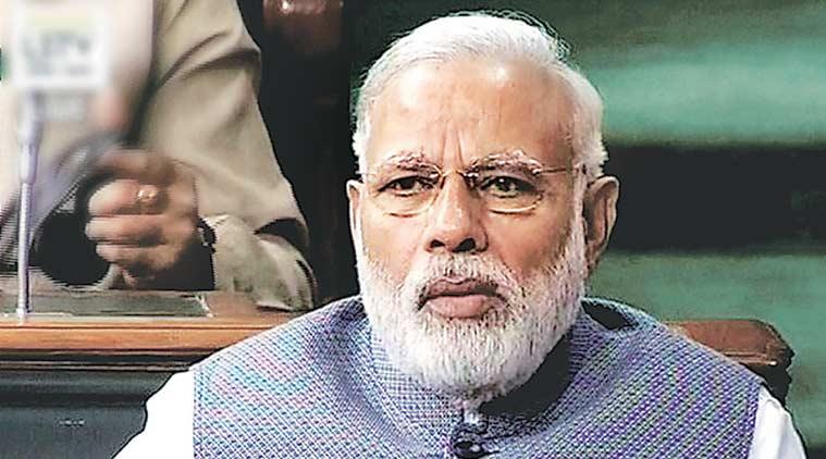 Prime Minister Narendra Modi in Lok Sabha. Credit: PTI/Files