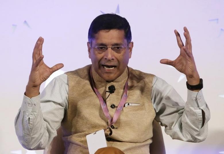 Arvind Subramanian. Credit: Reuters/Anindito Mukherjee/Files