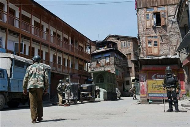 The State Human Rights Commission awarded 35 lakh as compensation to terror victims' kin. File photo of Handwara, Kashmir. Credit: PTI