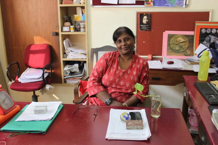 Sushmita Sen Pramanik, archaeologist. Credit: Aashima Dogra