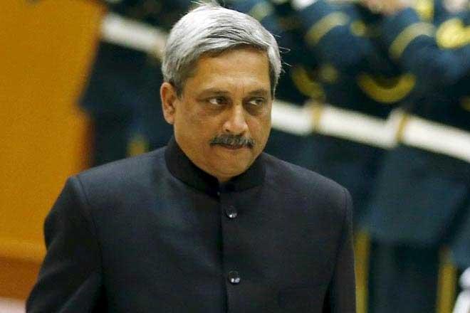 Defence minister Manohar Parrikar. Credit: Reuters