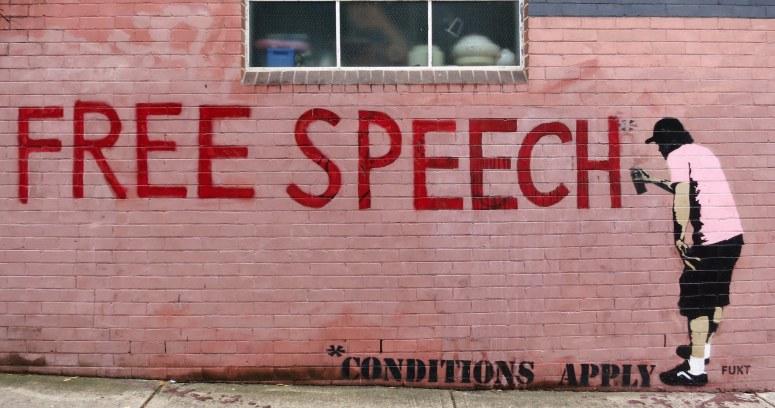 "As the free speech debate rages on, we must reimagine public discourse beyond ""radicals"" vs. ""liberals"". Credit: wiredforlego/CC"