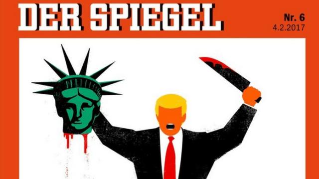 Donald Trump der speigel cover