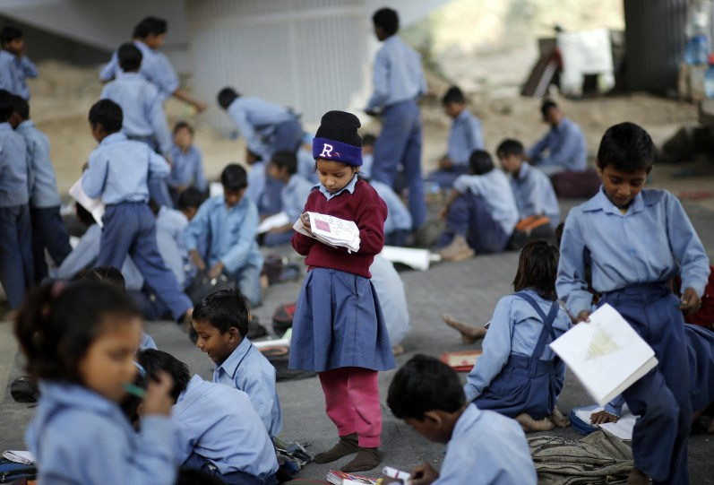 This budget lacks the political will to seriously implement universal right to education. Credit: Reuters/Files