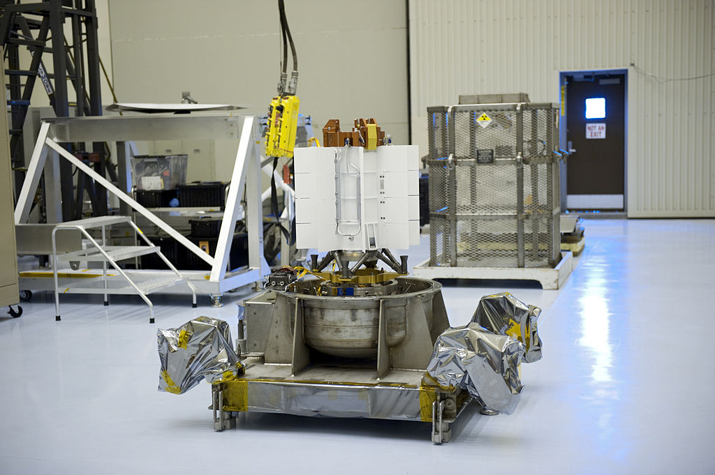 The multi-mission radioisotope thermoelectric generator used on the Mars Science Laboratory. It used plutonium-238 as a heat source. Credit: NASA/Wikimedia Commons