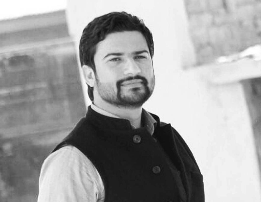 Congress leader in Kashmir, Salman Nizami. Credit: Salman Nizami Facebook page