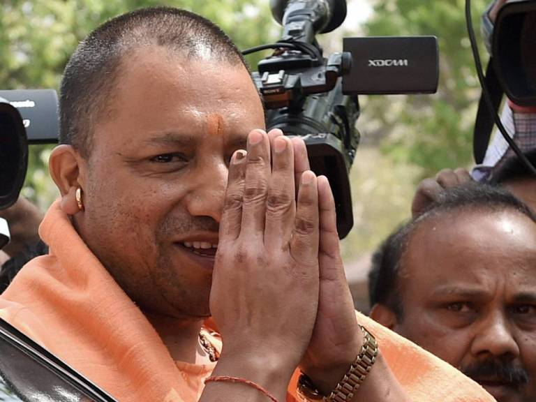 UP chief minister Adityanath. Credit: PTI