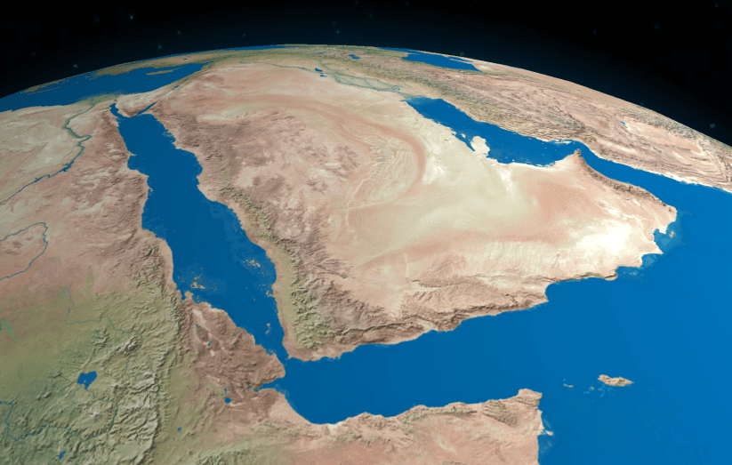 Arabian Peninsula. Credit: Wikimedia Commons