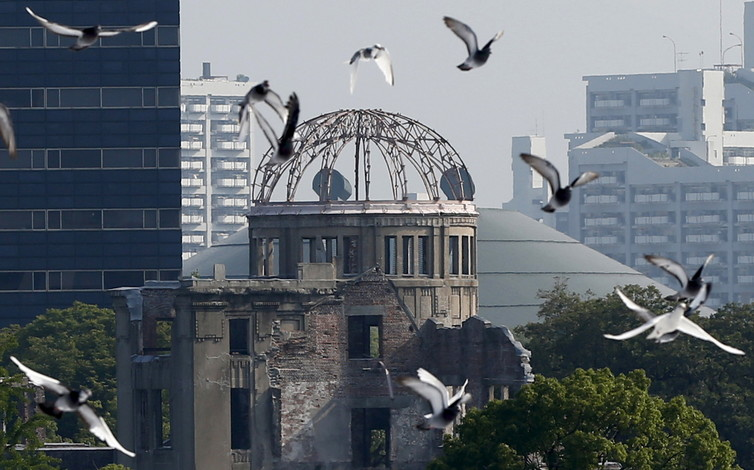 Hiroshima marks the 70th anniversary of the US dropping an atomic bomb on the city. Credit: Reuters