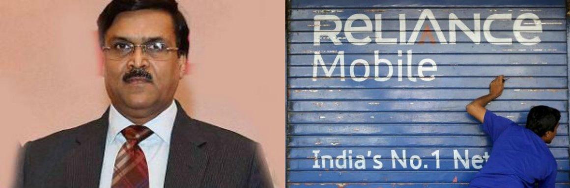 Jio aur jeene do? Telecom secretary J.S. Deepak (L). Credit: PTI (L), Reuters