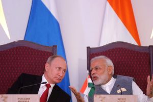 Could neo-nationalist leaders join hands across the world? Vladimir Putin (Russia) and Narendra Modi (India) in Goa, 2016. Credit: Mikhail Metzel/Kremlin.ru