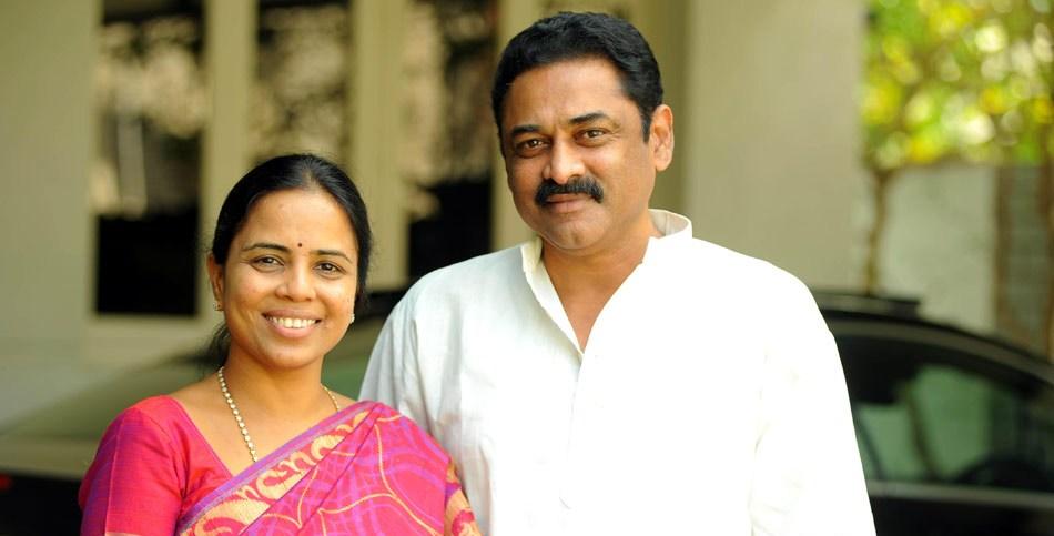 Bhuma Nagi Reddy with his wife Shobha Nagi Reddy. Credit: Wikimedia Commons