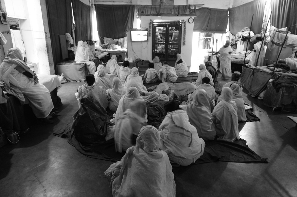Widows at Vrinvan ashram - Glimpses of their daily life. By Shome Basu 20130202_0042
