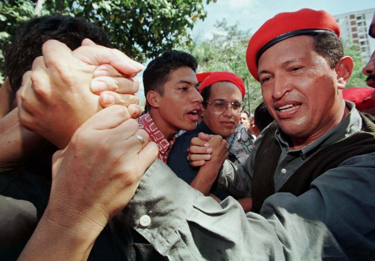 Hugo Chavez was in Venezuela's special forces before he tried his hands at politics. Credit: Carolina Jimenez/Reuters