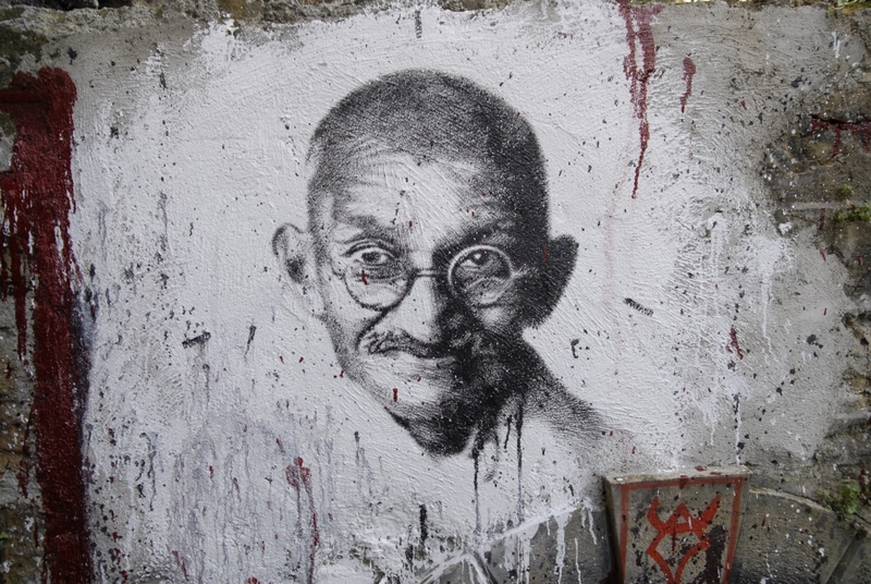 This is not the first time an attempt is being made to sow disinformation and create confusion about the Gandhi murder. Credit: thierry ehrmann/Flickr CC BY 2.0