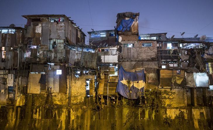 Windows of various shanties in Dharavi, one of Asia's largest slums, are seen in Mumbai January 28, 2015. Credit: Danish Siddiqui/Reuters/Files