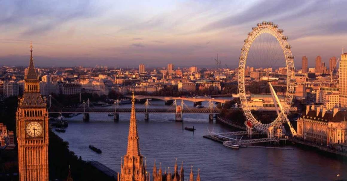 London skyline. Credit: London Eye/Twitter