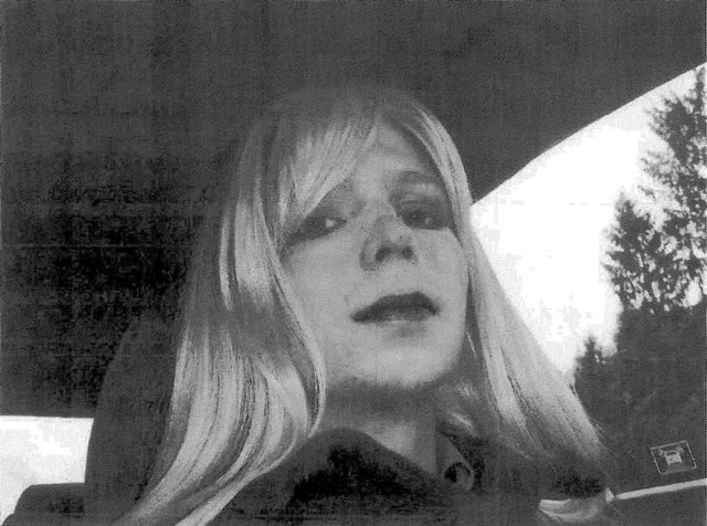 Chelsea Manning is pictured in this 2010 photograph obtained on August 14, 2013.  Courtesy US Army/Handout via Reuters