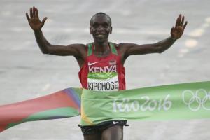 Eliud Kipchoge. Credit: Reuters/Sergio Moraes