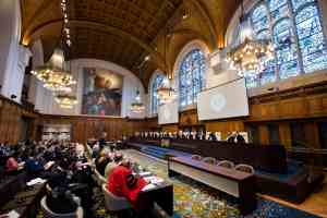 The International Court of Justice in session. Credit: ICJ