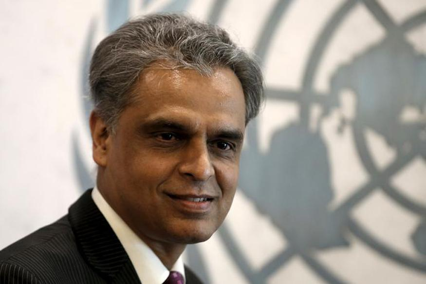 "India's permanent ambassador to the UN Syed Akbaruddin calls the new negotiations ""unacceptable"". Credit: Reuters"