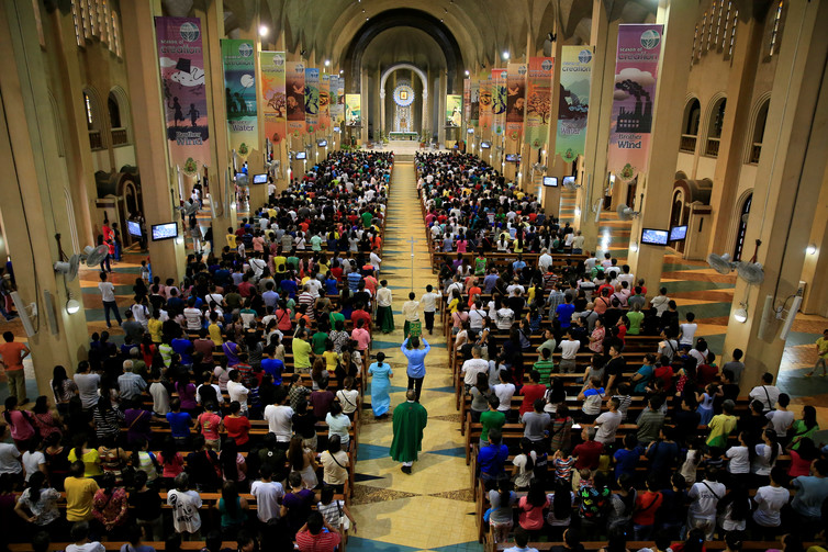 In the Philippines, 80% of people are, at least nominally, Catholic. Credit: Romeo Ranoco/Reuters