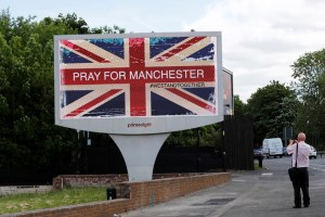 ISIS has claimed responsibility for the May 22 attack at a concert by pop singer Ariana Grande in Manchester, England, killed many teenagers. Credit: Stefan Wermuth/Reuters