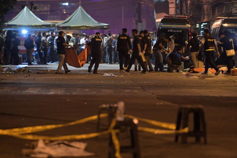 Indonesia arrests 3 suspects in bombings that killed police