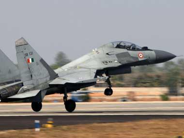 An IAF Su-30 aircraft. Credit: PIB