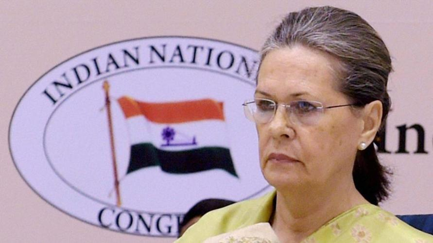Congress president, Sonia Gandhi. Credit: PTI/File Photo