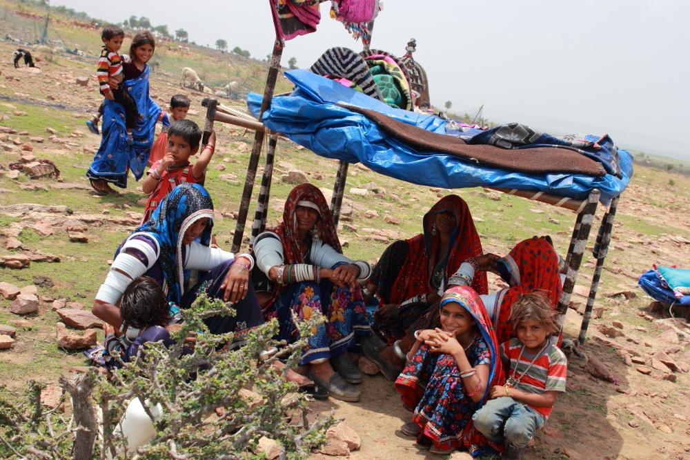 Members of Raika community in Rajasthan. Credit: G.B. Mukherji/FES