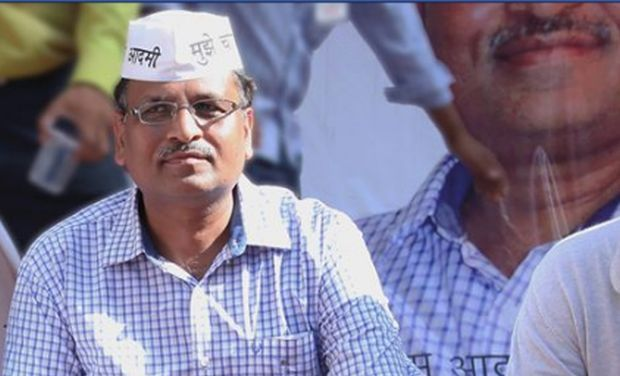 Satyendra Jain. Credit: PTI/Files