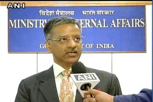 External Affairs Ministry spokesperson, Gopal Baglay. Credit: ANI