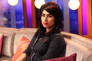 Qandeel Baloch. Credit: Dawn News