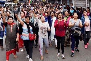 Gorkhaland protest