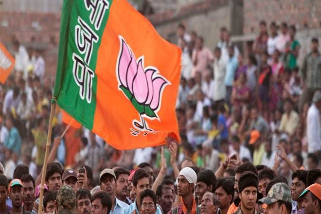 The BJP is hoping to win all three Rajya Sabha seats from Gujarat, though the Congress should have the numbers to retain one seat if there are no further defections. Credit: PTI