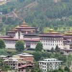 The Tashichhoedzong in Thumpu, where the Bhutan civil government sits. Credit: Christopher J. Fynn/CC BY-SA 3.0