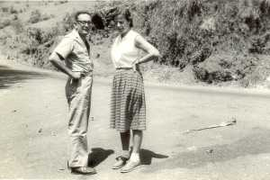 Hans Liepmann with his wife Dietlind. Courtesy: Roddam Narasimha