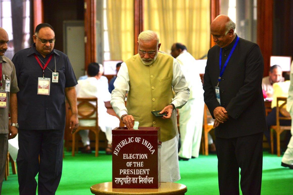 Narendra Modi Presidential Polls