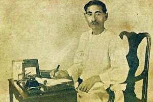 Premchand. Credit: Wikimedia Commons