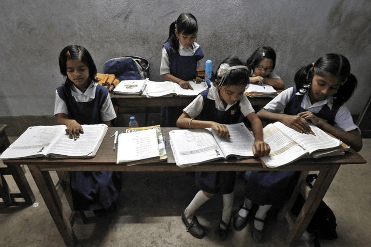 This includes school going children noted the UNESCO Report. Representational image. Credit: Reuters