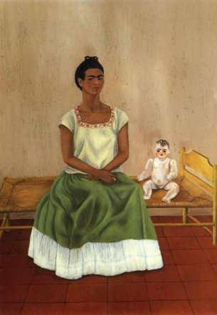 <em>Me and My Doll</em> by Frida Kahlo