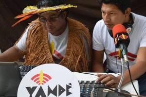 Rádio Yandê producers in Paraty, Rio de Janeiro. Credit: Official Rádio Yandê Facebook page