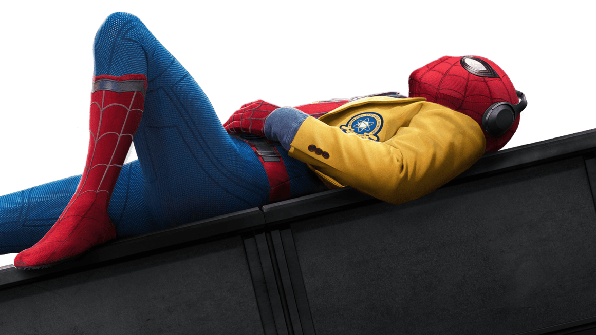 A poster image for <em>Spider-Man: Homecoming</em>.