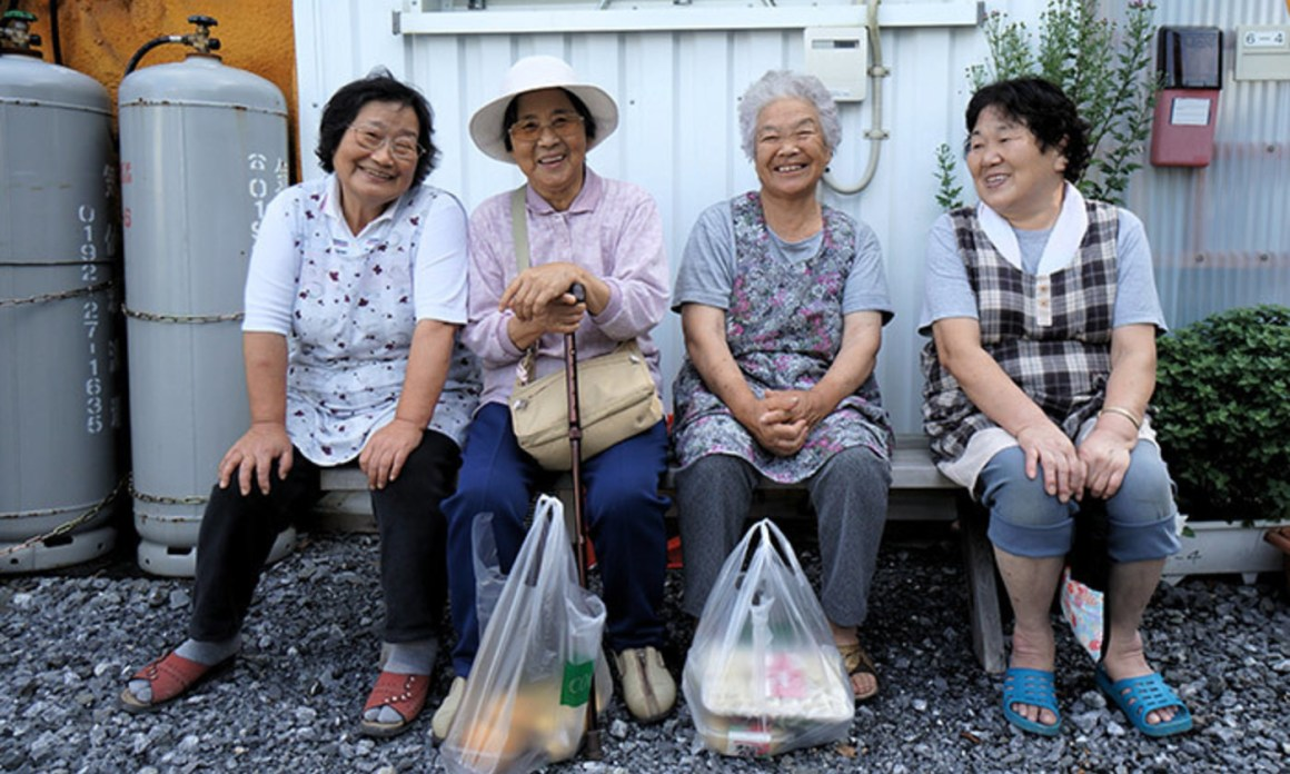 Elderly Japanese ladies. Credit: Mr Hick46/Flickr