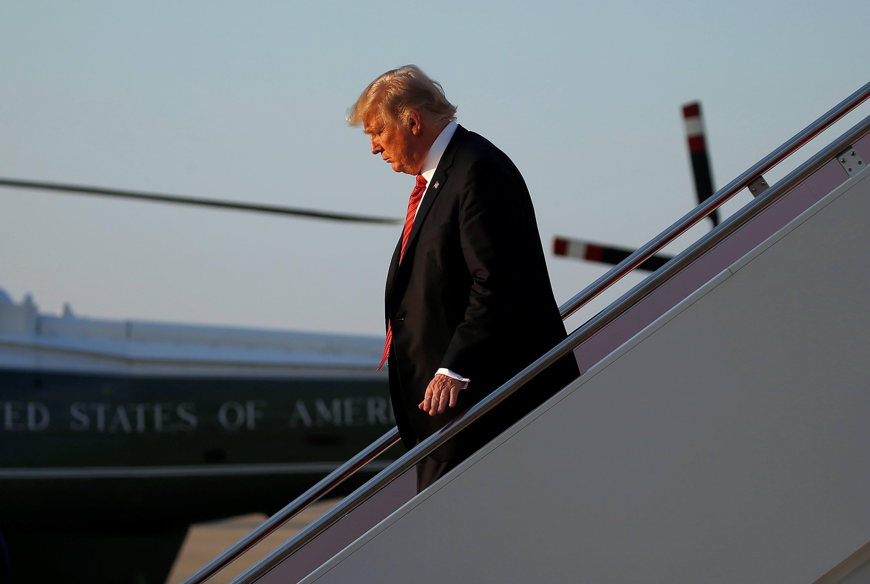 Trump blames fellow Republican leaders for debt ceiling 'mess'