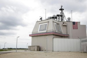 The deckhouse of the Aegis Ashore Missile Defense System (AAMDS) at Deveselu air base, Romania, May 12, 2016. Credit:Reuters