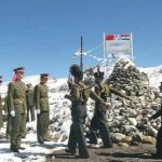 Chinese and Indian Army troops. Credit: PTI/Files