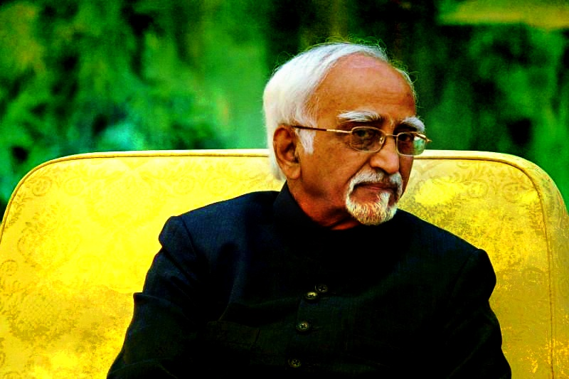 Hamid Ansari. Credit: Reuters/Wang Zhao/Pool